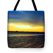 St Andrews Bay Sunset Tote Bag
