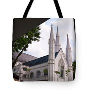St. Andrews Cathedral Tote Bag