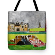 St Andrews Swilcan Bridge Tote Bag