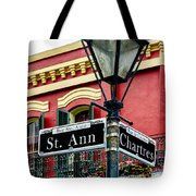 St. Ann And Chartres Nola  Tote Bag