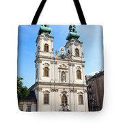 St Anne's Church In Budapest Tote Bag