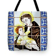 St Anthony Of Padua Tote Bag