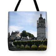 St. Antoine Tower And The Chateau De Loches Tote Bag