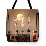 St. Augustine Apse Tote Bag
