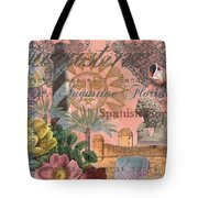 St. Augustine Florida Vintage Collage Tote Bag