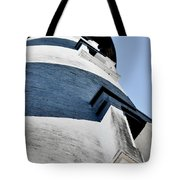 St Augustine Lighthouse - Angels And Ghosts Tote Bag by Christine Till