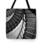 St. Augustine Lighthouse Steps Tote Bag