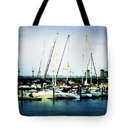 St. Augustine Sailboats Tote Bag