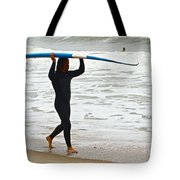 St Augustine Surfer Four Tote Bag