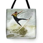 St Augustine Surfer Two Tote Bag