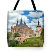 St Barbara Church Kutna Hora Tote Bag