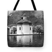 St. Batholomae At The Lake Tote Bag