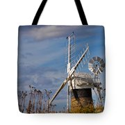 St Benets Drainage Mill Norfolk Tote Bag