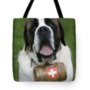 St. Bernard Dog Tote Bag