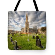 St Beuno Church Tote Bag by Adrian Evans