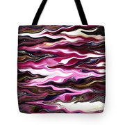 St Brigid Pink Waves Tote Bag