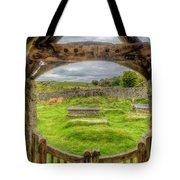 St Celynnin Graveyard Tote Bag