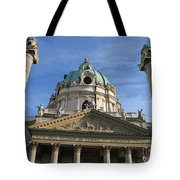 St Charles Church Vienna Austria Tote Bag
