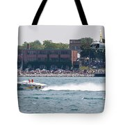 St. Clair Michigan Usa Power Boat Races-4 Tote Bag