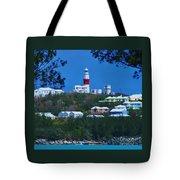 St. David's Light Bermuda Tote Bag