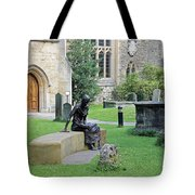 St Edmund Of Abingdon Tote Bag