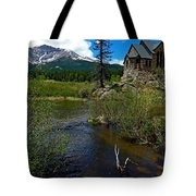 Church On The Rock Tote Bag