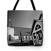 St. Francis - Abstract Bw Tote Bag