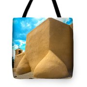 St. Francis D'asis Ranchos De Taos New Mexico Tote Bag