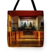 St Francis De Paula Mission Tularosa Tote Bag by Bob Christopher