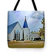 St. Francis Front Cropped 2 Tote Bag