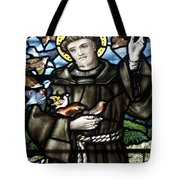St. Francis Of Assisi Tote Bag