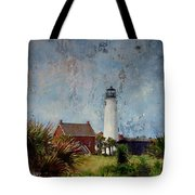 St. George Island Historic Lighthouse Tote Bag