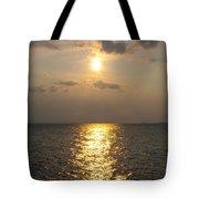 St George's Island Sunset Tote Bag
