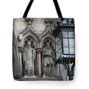 St Giles Church Statues 6600 Tote Bag
