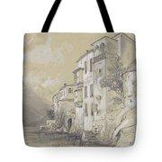 St Giulio Orta Tote Bag by Edward Lear