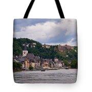 St Goar Am Rhein Tote Bag