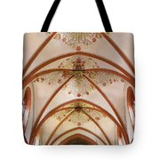 St Goar Organ And Ceiling Tote Bag