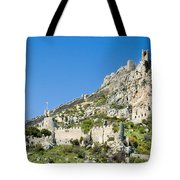 St Hilarion Castle Tote Bag