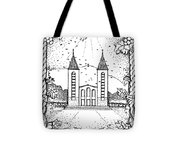 St James And Dove Tote Bag