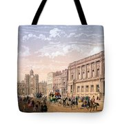 St James Palace And Conservative Club Tote Bag