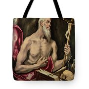 St Jerome Tote Bag