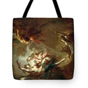 St. John Nepomuk Being Taken Tote Bag