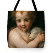 St. John The Baptist With The Lamb Tote Bag