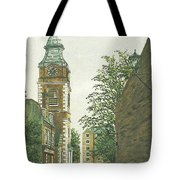 St Johns Church Wapping From Scandrett Street Tote Bag