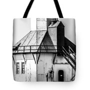 St. Joseph Lighthouse Vertical Panorama Picture  Tote Bag