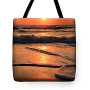 St. Joseph Sunset Swirls Tote Bag
