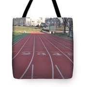 St Josephs University Track Tote Bag