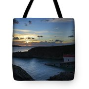 St Justinian Sunset Tote Bag