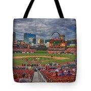 St Louis Cardinals Busch Stadium Dsc06139 Tote Bag