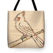 St Louis Cardinals Logo Art Tote Bag